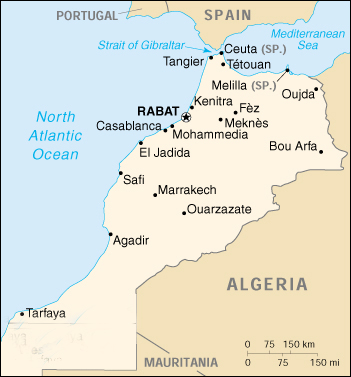 The Geography Of Morocco